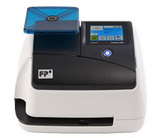 the mini can process up to 17 letters per minute and is perfect for small businesses with light mail volume